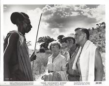 "Stewart Granger, Deborah Kerr, ""King Solomon's Mines""(1950)Vintage Movie Still"