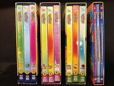 Pokemon Season 1 Indigo League Complete 79 Episodes RARE OOP Set & Adv. On Orang