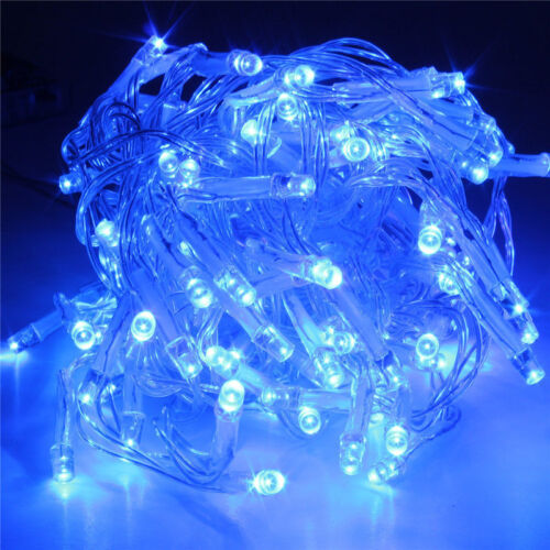 Battery Operated 10//20//30//40//50//80 LED String Fairy Lights Indoor//Outdoor Xmas /&