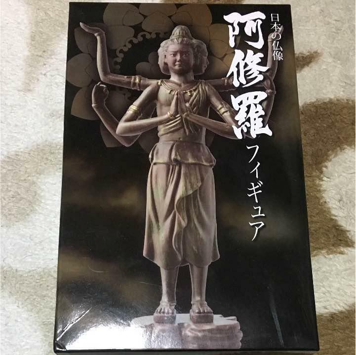Japanese Buddha Statue PVC Figure Ashura Asura NipponCar AmuseSiet goods