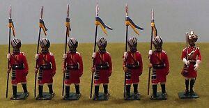 Mike Ferguson British Indian Army Alwar Lancers 54 mm Toy Soldiers