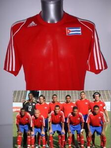 La imagen se está cargando Cuba-adulto-medio-Adidas-Camiseta-Jersey-Futbol -MAGLIA- a59db170e416b