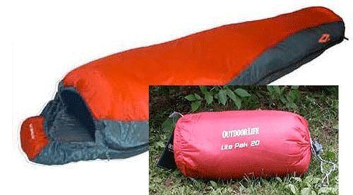 Nouveau 20 Degré Lite Pak Backpacking Momie Sac De 49.95 $ seulement avec Free Ship