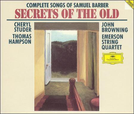"SAMUEL BARBER ""The Songs"" 2 CD set (CD, 1994, 2 Discs, Grammophon) Complete"