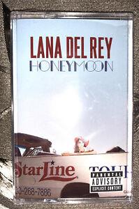 NEW, SEALED RARE Lana Del Rey Honeymoon Cassette Tape