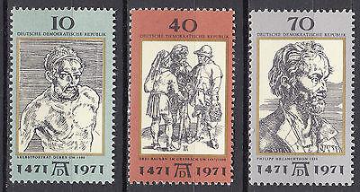 Nr 1672-1674 Postfrisch ** Mnh Systematisch Ddr 1971 Mi