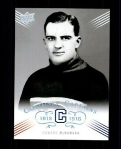 2008-09-Upper-Deck-Montreal-Canadiens-Centennial-204-Howard-McNamara-ref-97987
