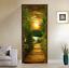 3D-Sunset-Wood-Bridge-Door-Wall-Mural-Wallpaper-Stickers-Vinyl-for-Bedroom thumbnail 4