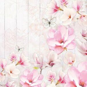 4 Serviettes En Papier Napkins Découpage Collage 33 Cm Jardin De Magnolia F 1008