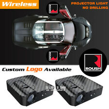 Wireless Car Door Projector Welcome Ghost Shadow Light For Ford F 150 Roush Logo Fits Focus