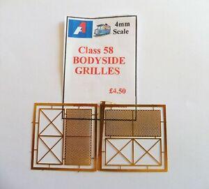 A1 Models 4mm Detailing Parts Class 58 Bodyside Grilles Plus De Rabais Sur Les Surprises