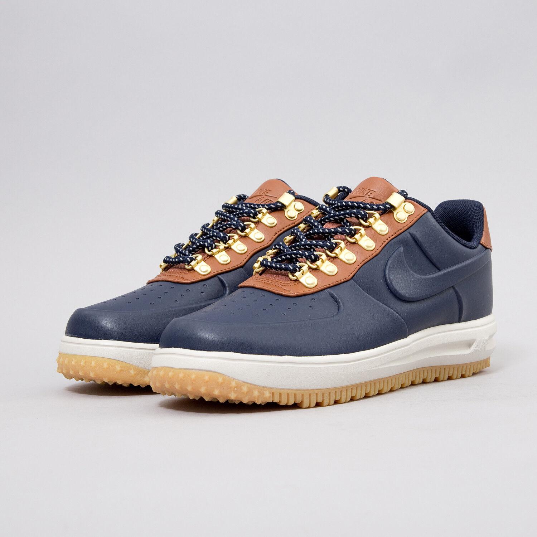 Mens Nike Lunar Force Duckboots AA1125-400 Boots Sneakers New Navy AA1125-400 Duckboots sku AA c90b90