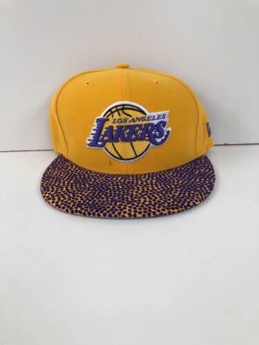 New Los Angeles Lakers New Era Men/'s NBA Club Snapback Caps Yellow//Purple