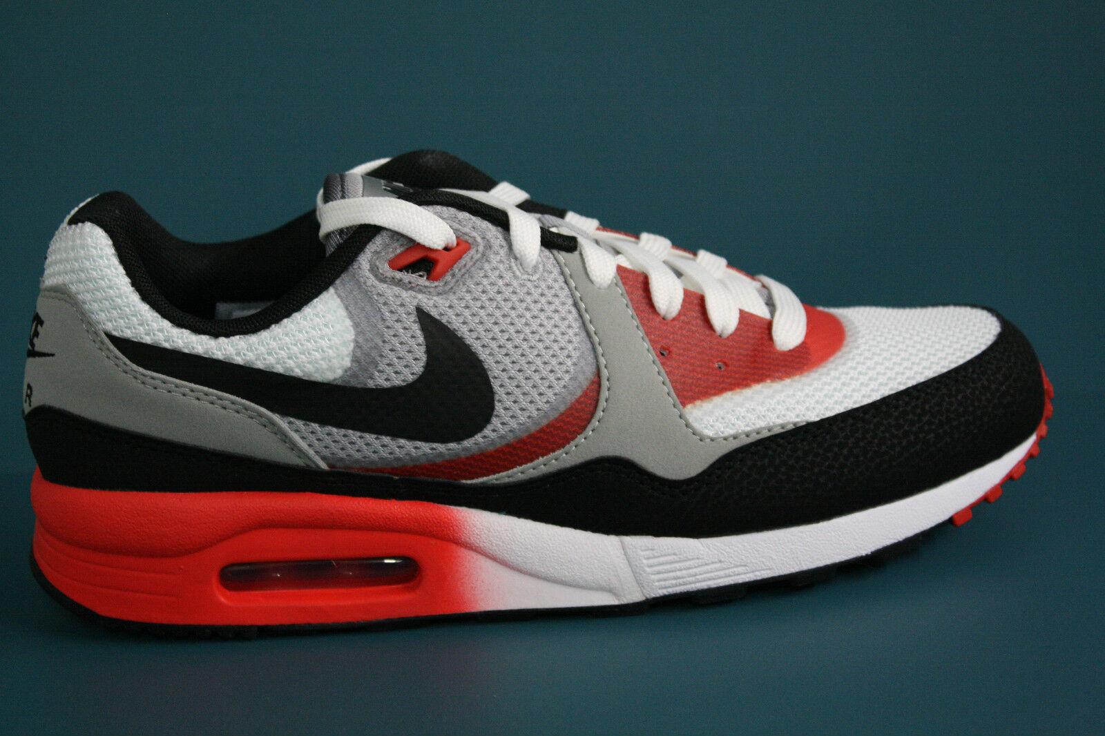 631758-006 Men's Nike AIR MAX LIGHT C1.0 COOL GREY-BLACK-CRIMSON-UNIVERSITY RED