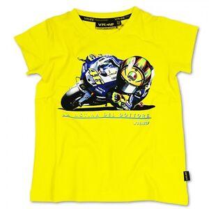 Neu Offiziell Valentino Rossi Vr46 Cartoon T Shirt Kinder Vrkts 789