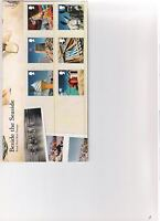 2007 ROYAL MAIL PRESENTATION PACK BESIDE THE SEASIDE MINT DECIMAL STAMPS