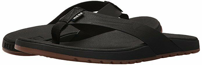 TKEES Black Leather Night Thong Sandals Size 9 SS16 New 1071