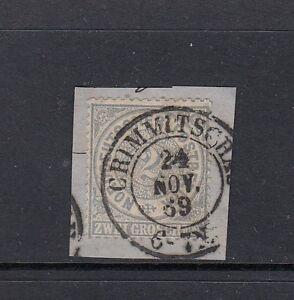 Luxus-Altdeutschland-Norddeutscher-Bund-Mi-Nr-17-gestempelt-auf-Briefstueck
