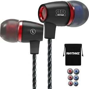RHYTHMZ-Harmony3-Professional-In-Ear-Headphones-Earphones-with-mic-and-volume