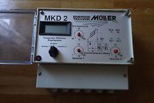Müller MKD 2 Kollektor Heizung Temperartur Differenz Regelgerät - Wasser Regler