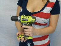 Ryobi P208b 18v 1/2 In. 2 Speed, Drill-driver Bare Tool