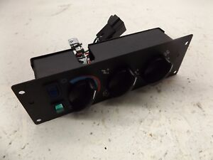 Details about MACK RED DOT HEATER AC CONTROL PANEL NEW OEM RD-3-12950