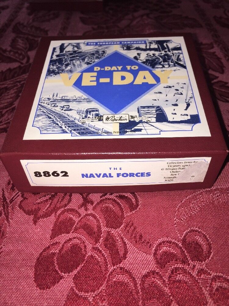 Britains  D-Day to to to VE-Day series The Naval Forces New 6f0671
