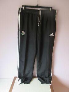 pantalon de jogging adidas noir homme taille XL.