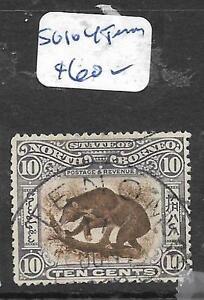 NORTH BORNEO (P2903B) 10C HONEY BEAR, BEE SG 104 TENOM VFU