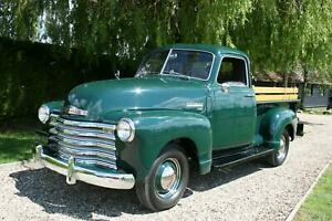Chevrolet 3100 Pick Up Truck. Incredible Restoration to Concours Standard.