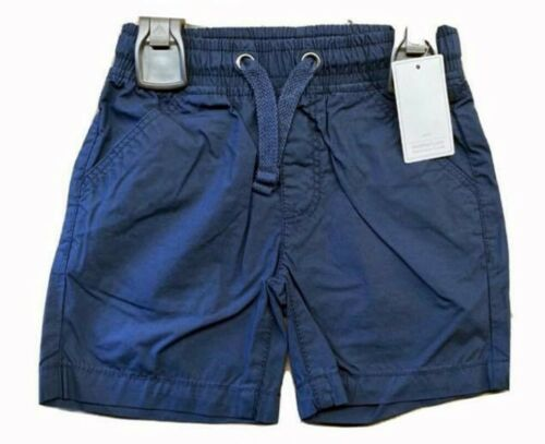New Mothercare Boys Baby Cotton Elasticated Waist Shorts Chino Summer Knee Lengt