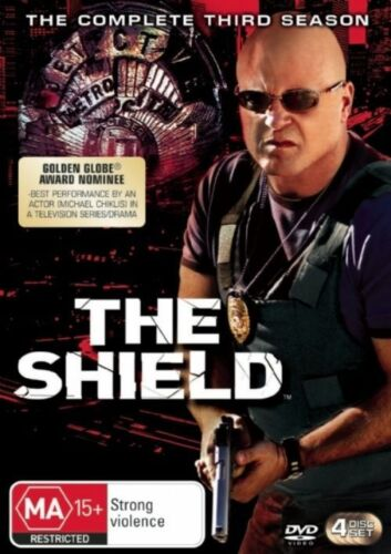 1 of 1 - The Shield : Season 3 (DVD, 2007, 4-Disc Set) BRAND NEW & SEALED