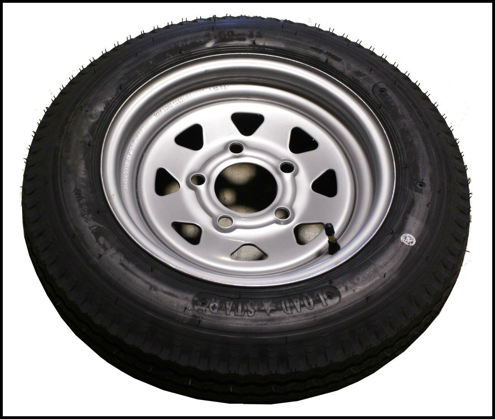 4.8 x 12 Triton 06509 Class C Snowmobile Trailer Tire