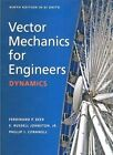 Vector Mechanics for Engineers : Dynamics (SI Units) by E. Russell Johnston, Jr., Ferdinand P. Beer (Paperback, 2010)