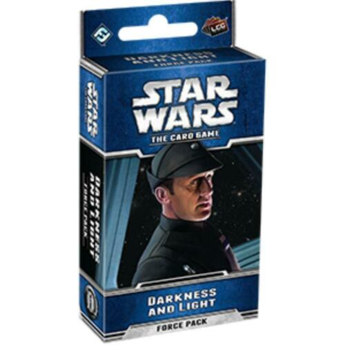 Star Wars the Card Game Darkness and Light Force Pack LCG Fantasy Flight FFG