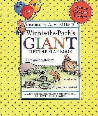 Winnie-the-Pooh's Giant Lift-the-flap Book: Learn Your Alphabet, Numbers,