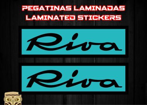 Aufkleber Sticker Aufkleber Autocollant Adesivi Decal X2 Riva Ferrari