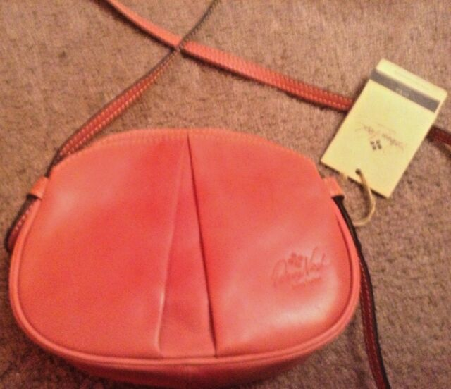 7d4eac7bd Patricia Nash CHANIA Blush Leather Crossbody Messenger Bag Handbag Satchel  NEW