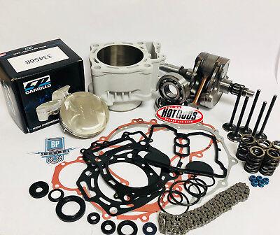 Kibblewhite intake exhaust valve kit with spring kit Honda 04-05 TRX450R 450R