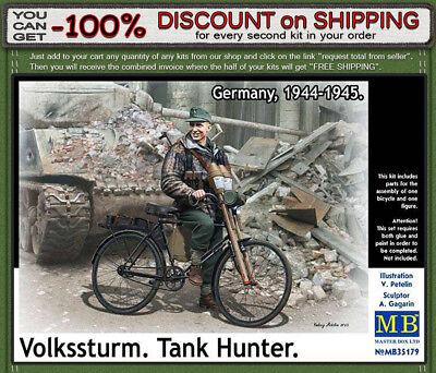 GERMANY TANK HUNTER 1944-1945 1//35 MASTER BOX 35179 DE ***NEW*** VOLKSSTURM