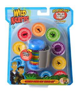 Martin Kratt Wild Kratts Toys Creature Power Disc Holder Set with 20 Discs
