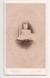 Vintage-CDV-Young-Girl-April-1867-C-R-pottinger-Photo-Cheltenham