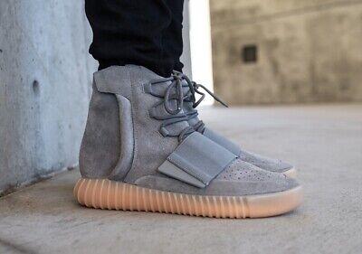 Adidas Yeezy Boost 750 Grey Gum Size 8