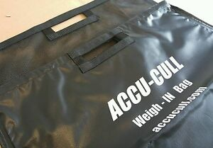 Details About Accu Cull Weigh In Bag Fishing 2 One System N Stock 30