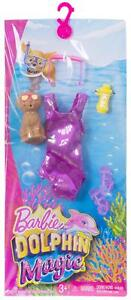 NEW-Barbie-Doll-Clothes-Bathing-Suit-Dolphin-Magic-Tropical-Set-Fashion-Pack