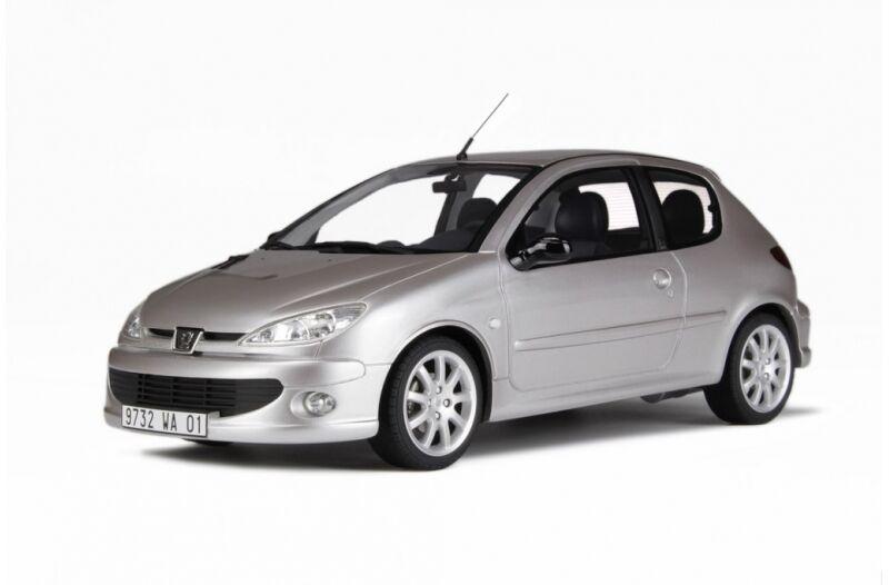 Venta al por mayor barato y de alta calidad. Peugeot 206 206 206 GT Quartz gris 1 18 resin Otto Mobile nuevo con embalaje original ot140  Ahorre 35% - 70% de descuento