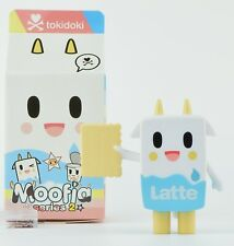 Tokidoki Moofia Series 2 3-Inch Mini Figure - Latte With Cracker