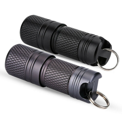 AM/_ OUTDOOR MINI KEYCHAIN USB RECHARGEABLE LED FLASHLIGHT TORCH LAMP LIGHT ALL