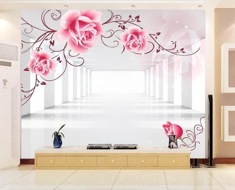 Unique Pulpy Plum 3D Full Wall Mural Photo Wallpaper Printing Home Kids Decor