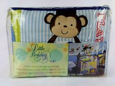 BREATHABLE BABY MOMMY /& ME SAFETY BEDDING SET 4 PC RC 9148 TEAL//ELEPHANT
